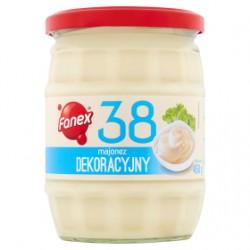 """Dekoracyjny"" Mayonnaise, glass jar 450g"