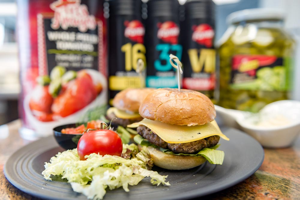 Kultowy burger z Pulp Fiction z Ketchupem nr VII - Sklep Fanex