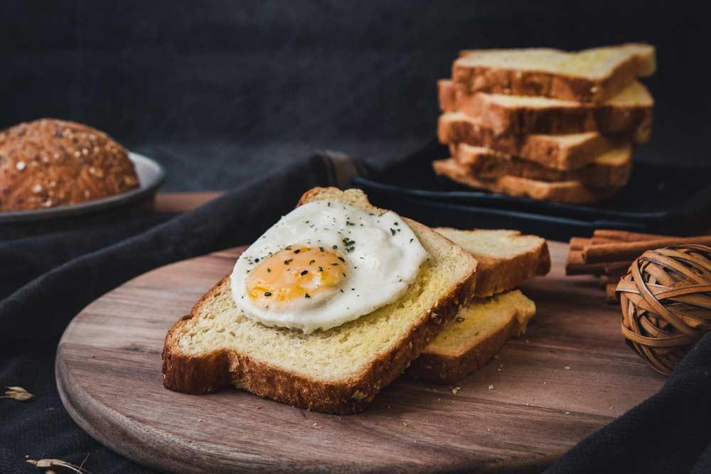 Przepis na dobre śniadanie - jajka - Sklep Fanex