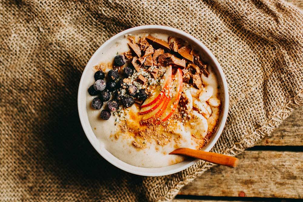 Pomysł na śniadanie - owsianka - Sklep Fanex