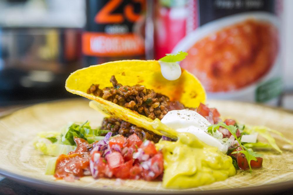 Meksykańskie taco z sosem Salsa Mexicana Fanex - sklep Fanex